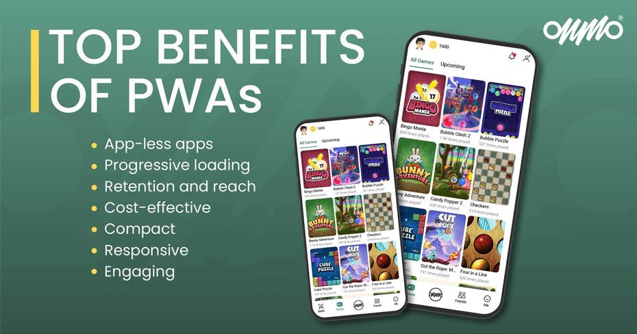 Top benefits of PWAs