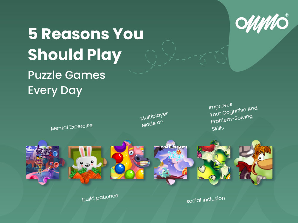 5 Reasons You Should Play Puzzle Games Every Day